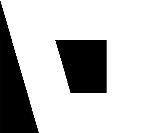 Signet Logo Post Berching weiß