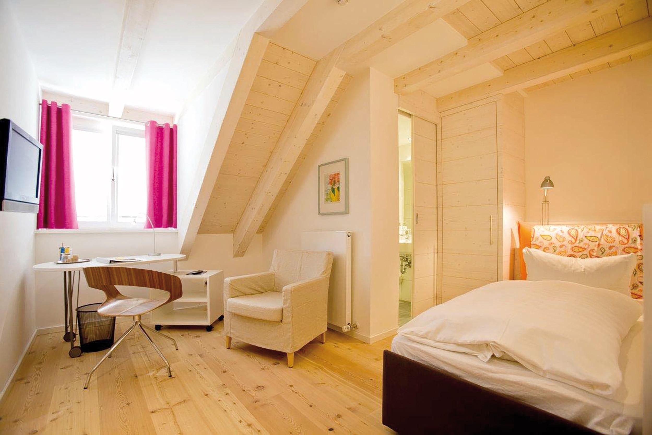 Einzelzimmer im Fuchsbräu