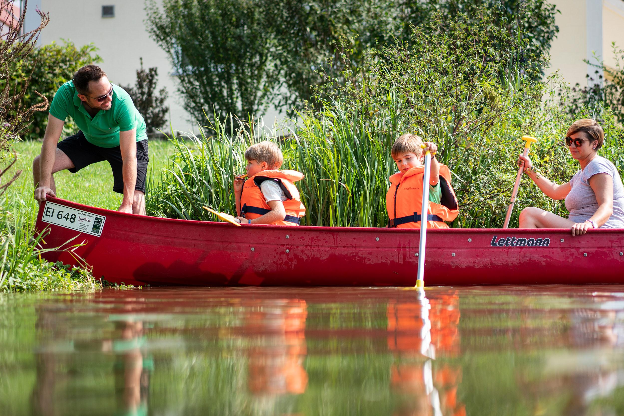Bootswandern auf der Altmühl von Kinding nach Beilngries